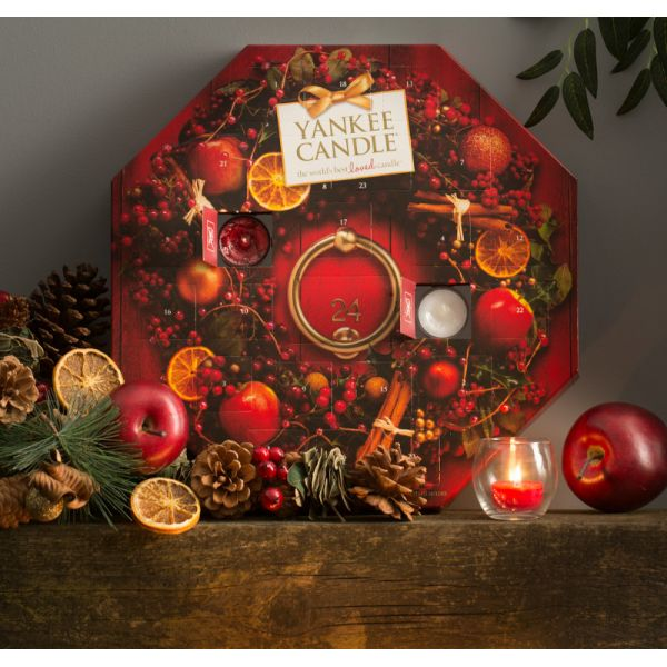 yankee candle calendrier de l 39 avent noel 2013. Black Bedroom Furniture Sets. Home Design Ideas