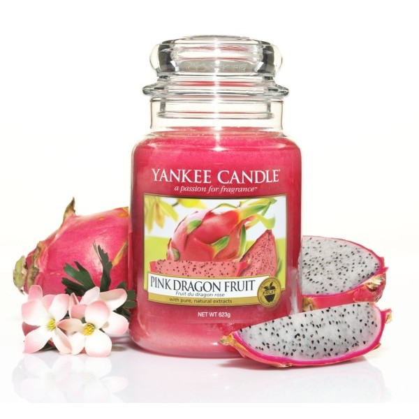 bougie yankee candle fruit du dragon parfum yankee candle boutique yankee candle toulouse. Black Bedroom Furniture Sets. Home Design Ideas