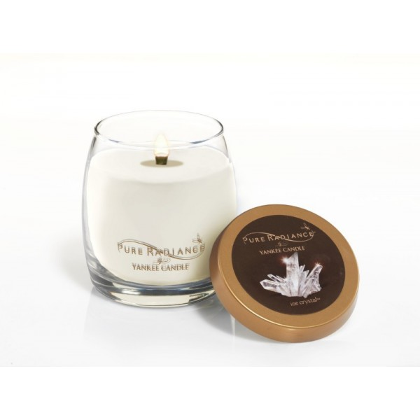 bougie yankee candle cristaux de glace collection pure radiance. Black Bedroom Furniture Sets. Home Design Ideas