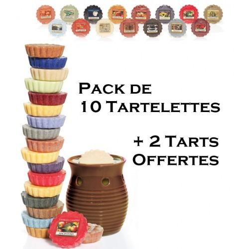 Pack Découverte 12 Tartelettes