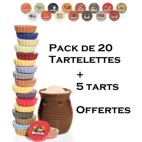 Pack Découverte 20 Tartelettes