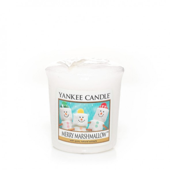 Merry Marshmallow - Votive