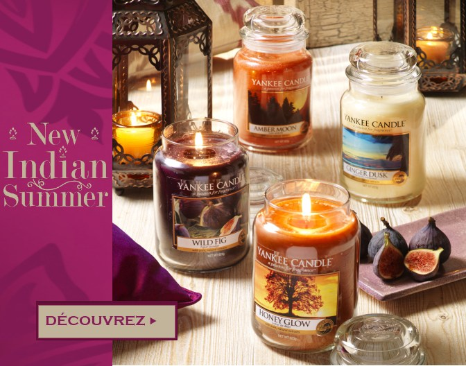 Collection hiver des bougies Yankee Candle